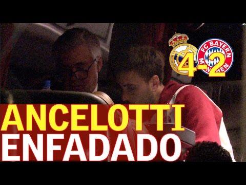 Real Madrid 4-2 Bayern |Así estaba Ancelotti tras el partido |Diario AS