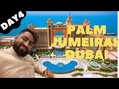 Amazing Palm Jumeirah and JBR Beach walk Dubai-day 4