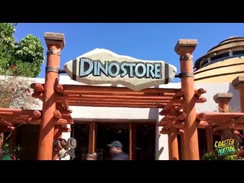 Jurassic Park Dinostore Gift Shop Tour - Universal Orlando FL