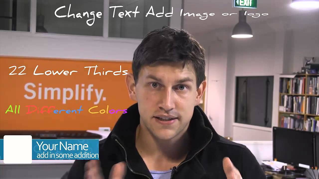 Lower Thirds Examples