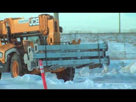 A good winter for Riel construction - video update