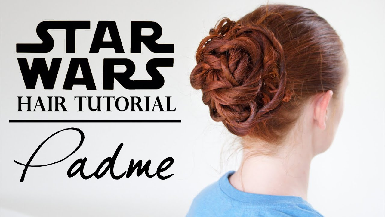 Star Wars Hair Padmé In The Gladiator Ring Youtube