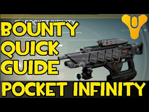 Destiny: Exotic Bounty - Shattered Memory Fragments Quick Guide // Pocket Infinity