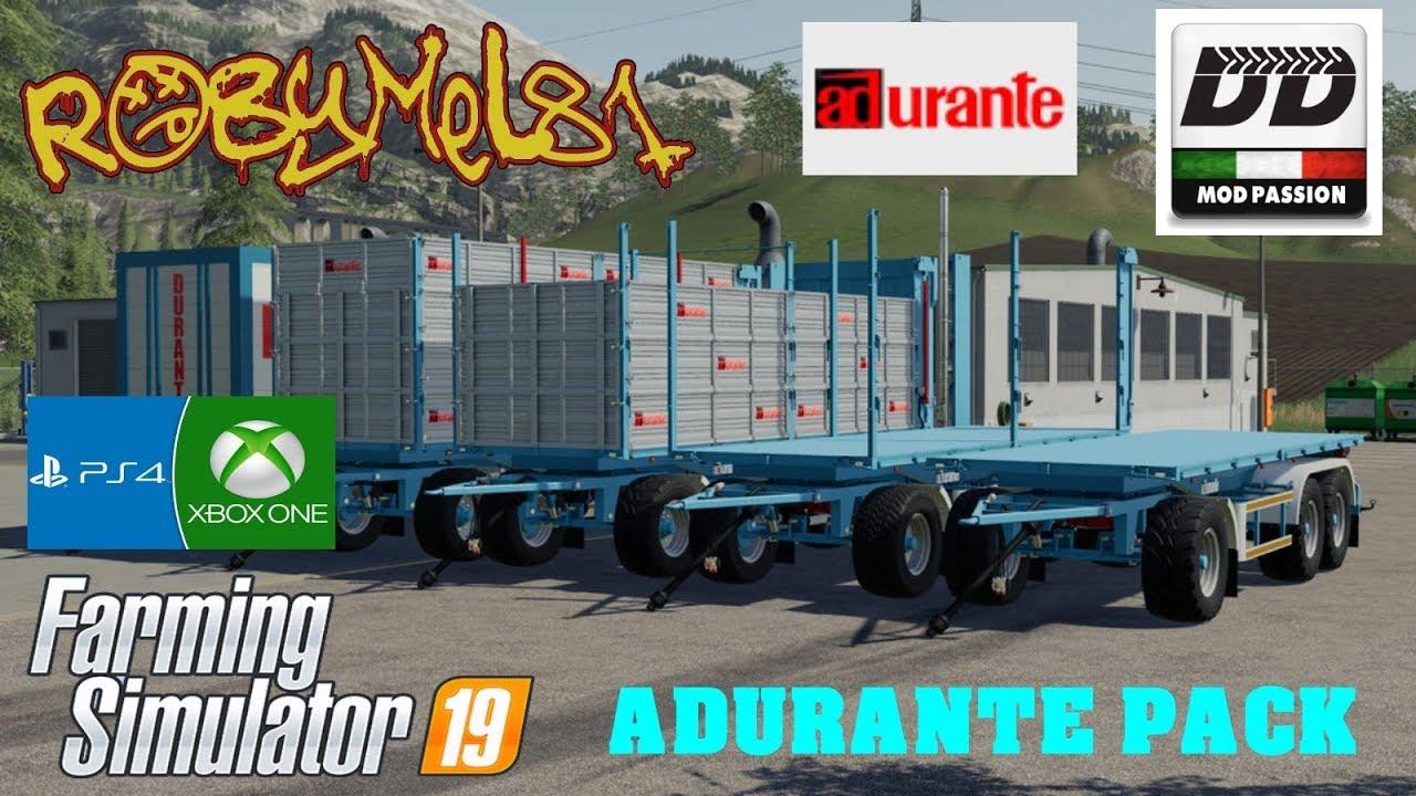 Adurante Pack v 1 1   FS19 mods, Farming simulator 19 mods