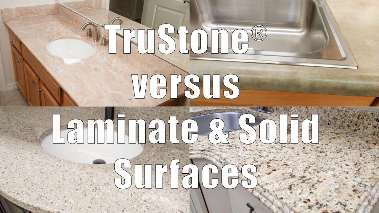 Trustone Vs Laminate And Solid