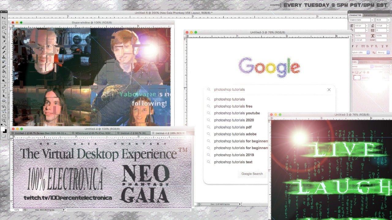 Neo Gaia Phantasy: The Virtual Desktop Experience (Ep 12: surprises)