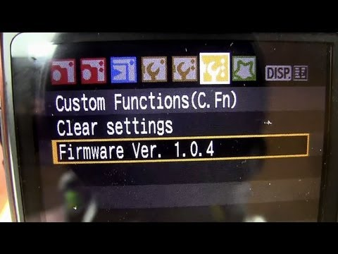 How To Update Your Canon DSLR Firmware - DSLRnerd.com