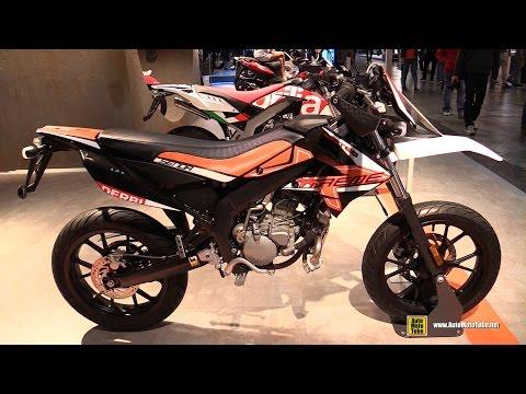 2016 Aprilia Senda DRD xTreme 50 SM Limited - Walkaround - 2015 EICMA Milan