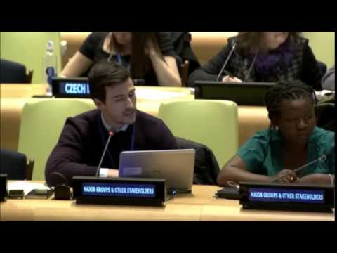 Mr. Matthew Simonds - International Trade Union Confederation - February UN Post-2015 negotiations