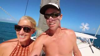 SWIMMING with 40 TONNE WHALES - Adventure 32 of Sailing Around the