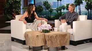 Bethany Mota Meets Ellen