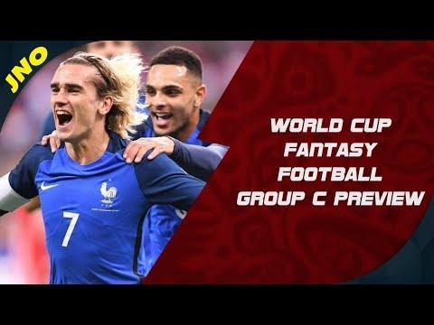 FIFA WORLD CUP 2018 tasy Football  Group C P & Player Picks!