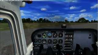 Tuto Microsoft® Flight Simulator X (commenté en francais) / l'Aviation aux sol (Cessna 172)