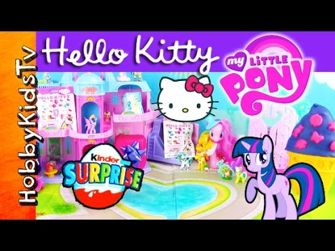 03b46518dc My Little Pony Hello Kitty Shopkins SURPRISES! Princess Disney Blind ...