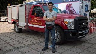 xetinhtevn  xem thu chiec ford f-350 super duty phien ban canh sat pccc ha noi