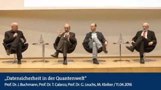 Audio: Datensicherheit in der Quantenwelt: Wie können unsere Informationen geschützt werden?