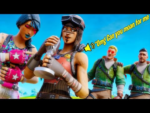 Gamer Girl Voice Trolling On Fortnite With Stepsister! (18+ Funny Moments)