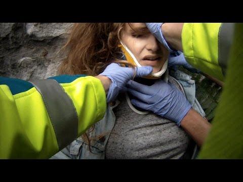 Deze klimpartij loopt fout af | Helden van Hier: Door het Vuur | VTM