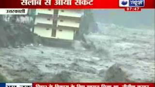 Bhagirathi and Ganges River cross the danger mark