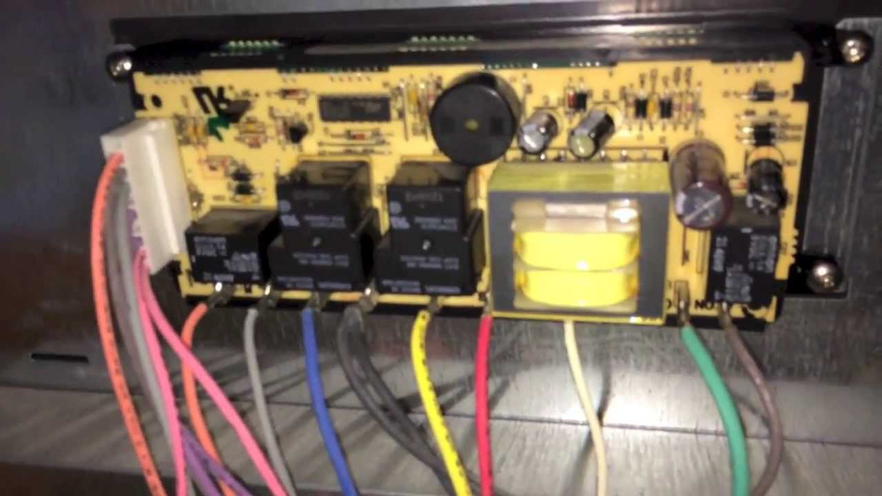 Repairing Electronic Oven Controller on Kenmore Elite Oven 79075503  YouTube