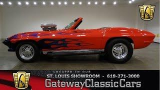 1963 Chevrolet Corvette - Gateway Classic Cars St. Louis - #6532