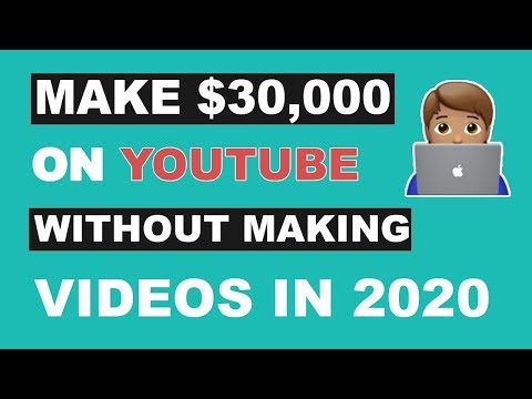 Make $30,000 on YouTube Without Making Videos [ Make Money Online ]