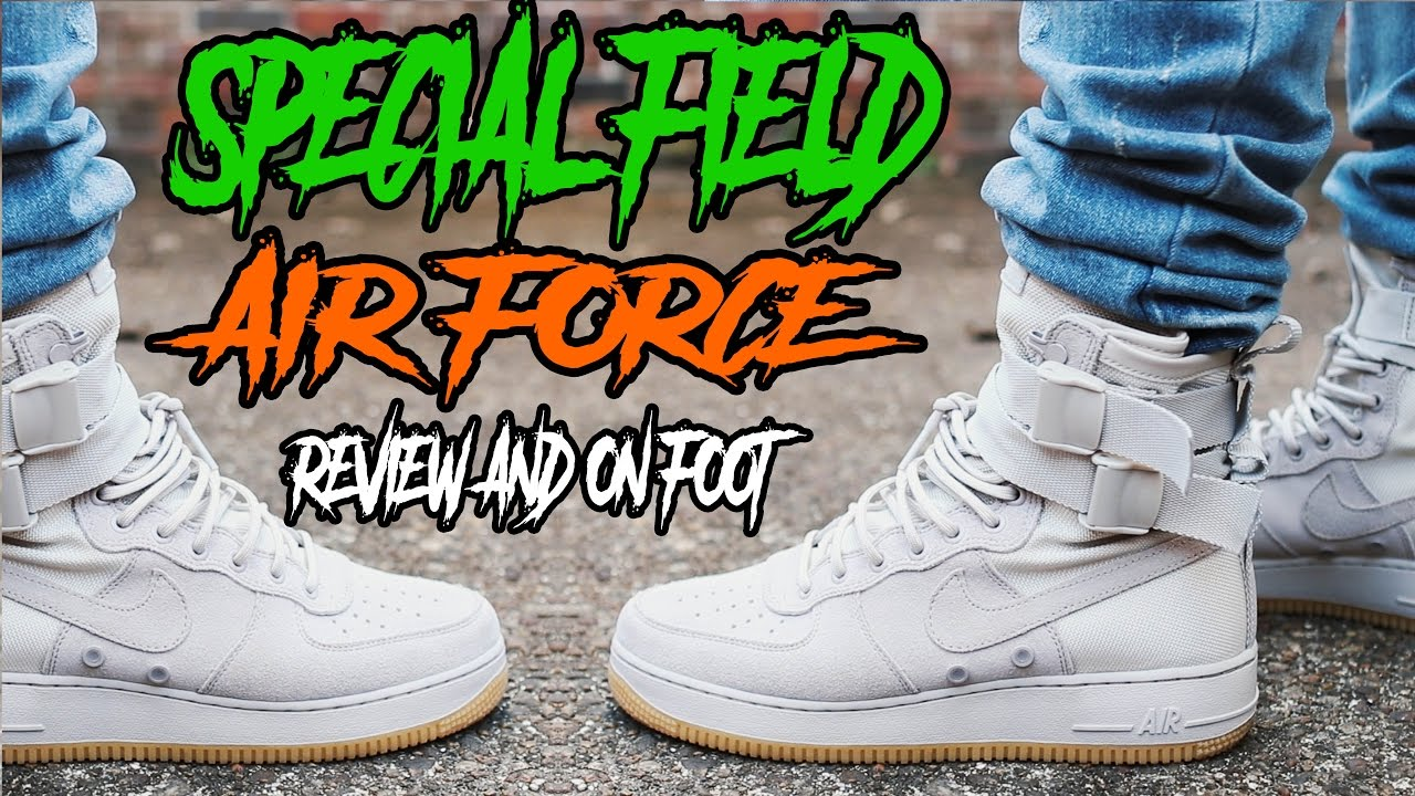 newest f848f a12be NIKE SF AF1 REVIEW AND ON FOOT - YouTube