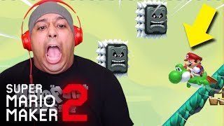WHO TF IS PATRICIA!? THIS LEVEL IS HARD AF!! [SUPER MARIO MAKER 2] [#32]