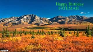 Fatemah   Nature & Naturaleza