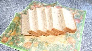 Хлеб пшенично-ржаной в хлебопечке