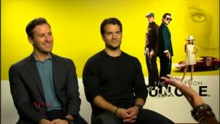 Henry Cavill & Armie Hammer Interview - Xposé