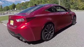 Lexus RCF Coupe - (New Jersey) One Take