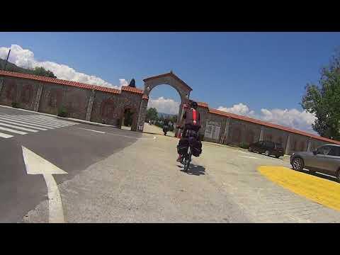 Albania Bike tour 2018,  Elbasan -St. Naum (Macedonia)
