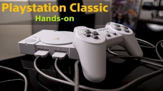 Playstation Classic Hands-on: Cutiuta cu amintiri