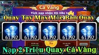 Nạp 2 Triệu Quay Tay Max Bàn Quay và Cá Vàng Nhận Kim Cương Cực Nhiều - Top Pokemon Game Theory