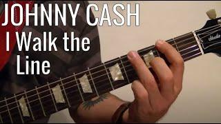 I Walk the Line - JOHNNY CASH - Guitar Lesson