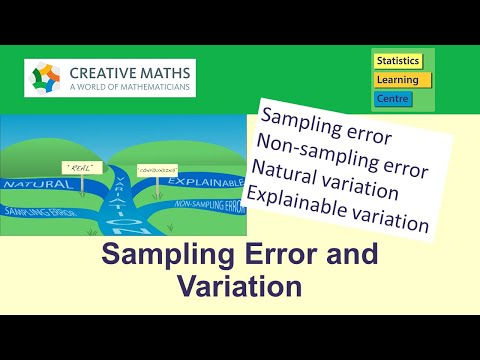 Variation and Sampling Error