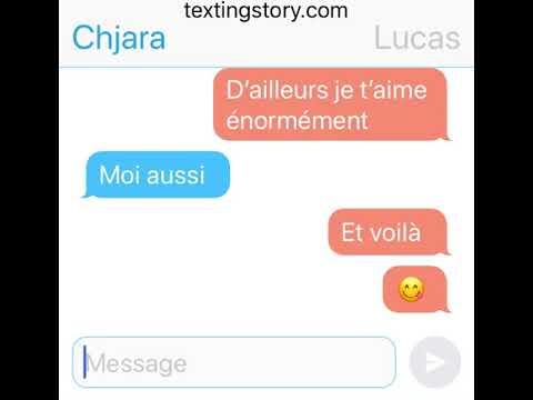SMS // Histoire d'amour sincère 💘💘❤️