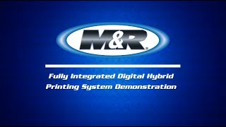DS 4000 Fully Integrated Digital Hybrid Printing System Demonstration