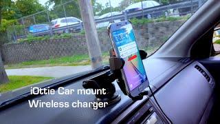 car mount para gs6 gs6 edge note 5 nexus 6 iottie easy one touch wireless car mount