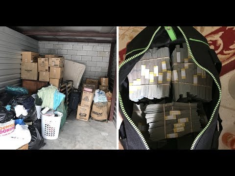 This Man Finds Safe Containing $7 5million Inside Storage Unit He Bought For $500.
