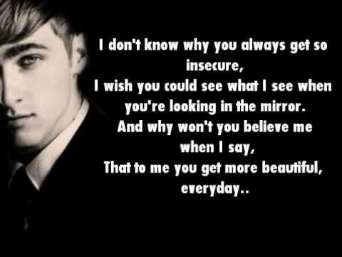 Big Time Rush- Cover Girl Lyrics On Screen