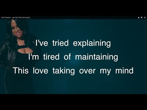 CeCe Peniston - Love Don't Take Over (Lyrics)