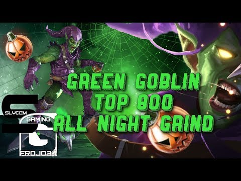 Green Goblin Arena Top 800 ALL NIGHT GRIND | Marvel Contest of Champions