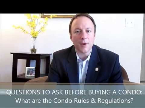 #2: Questions You Must Ask Before Buying a Condo: What are the Rules & Regulations?