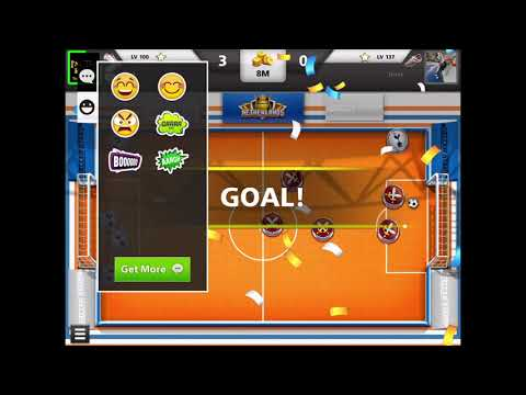 Soccer stars I'm Rezk barakat  top goal crazy game and 1 game all in 😘