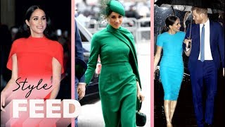 Meghan Markle's BOLD Fashion Statement Before Official Megxit | ET Style Feed
