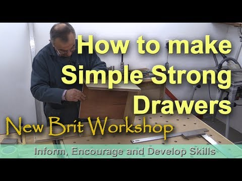 How to make Simple Drawers - quick and easy