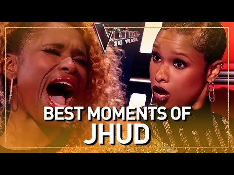 The Voice coach JENNIFER HUDSON blows everyone away with her voice!
