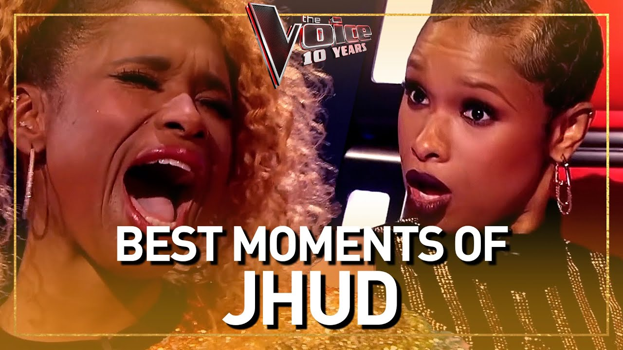 Download The Voice coach JENNIFER HUDSON blows everyone away with her voice!
